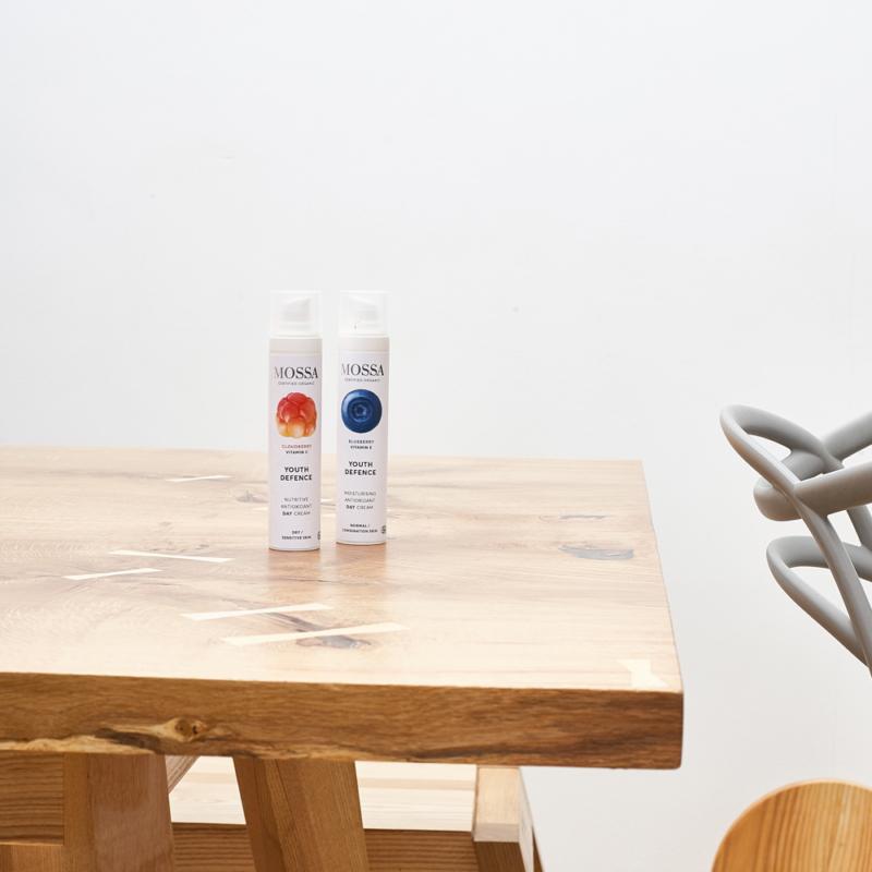 Hidratáló nappali krém áfonyával és E vitaminnal