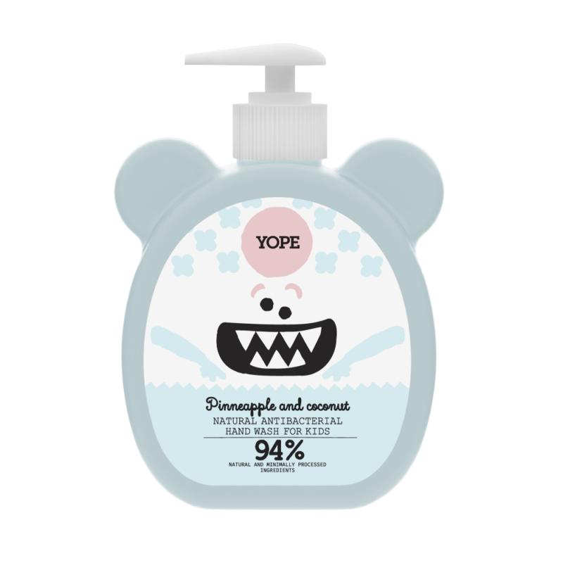 Természetes antibakteriális kézmosó szappan gyerekeknek