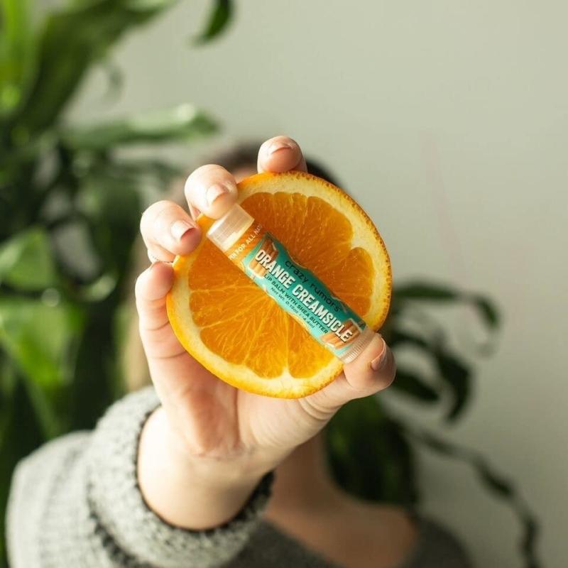 Narancskrém ajakápoló balzsam