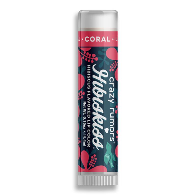 Hibiskiss színezett ajakápoló balzsam - Coral