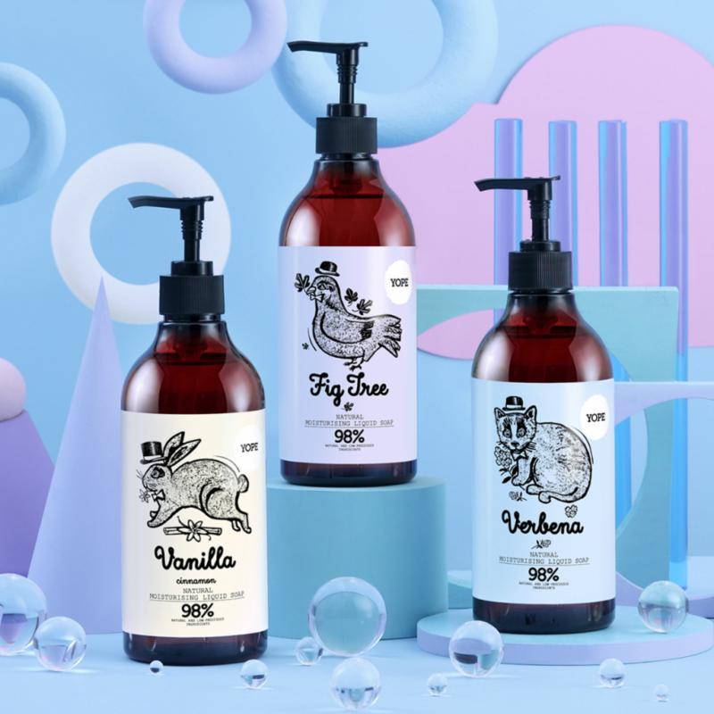 Fügefa természetes folyékony kézmosó szappan