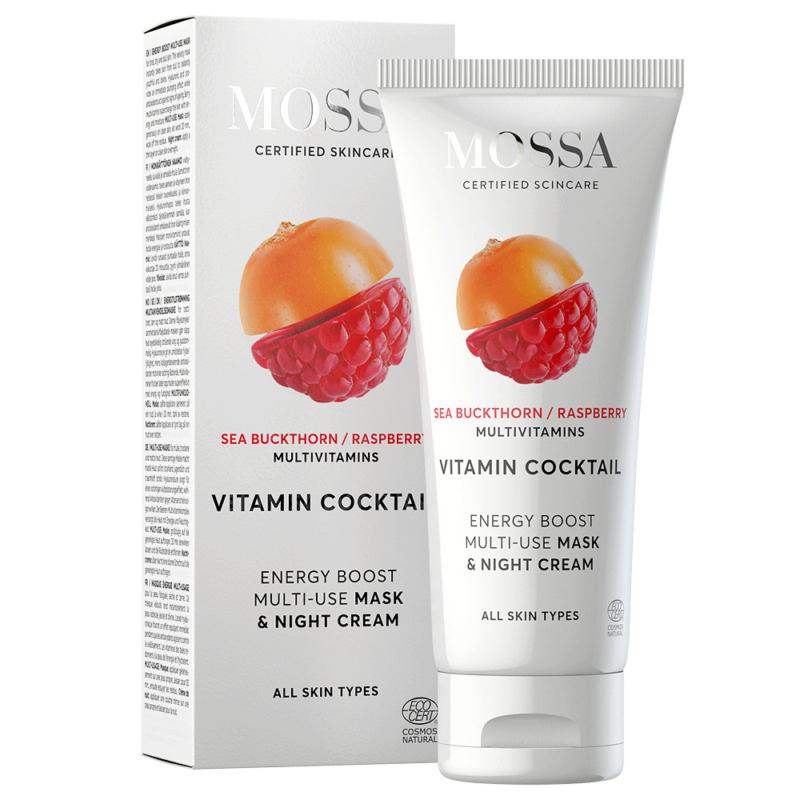 Vitamin Cocktail Multifunkciós vitamin maszk + éjszakai krém száraz, fakó bőrre