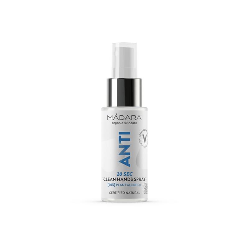 ANTI 20sec Kéztisztító spray 70% BIO növényi alkohollal