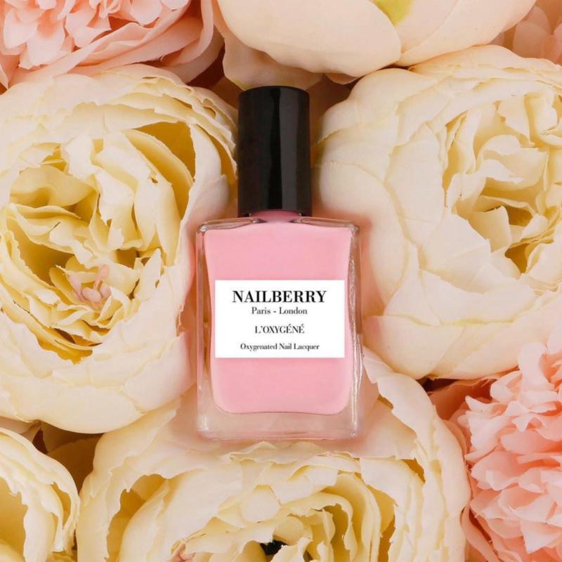 NAILBERRY Lélegző körömlakk - ROSE BLOSSOM